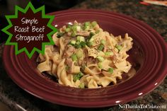 Weight Watchers Beef Stroganoff: From Weight Watchers 5 Ingredient 15 Minute Recipes  Summer 2011. 6 Points ~ 8 Points