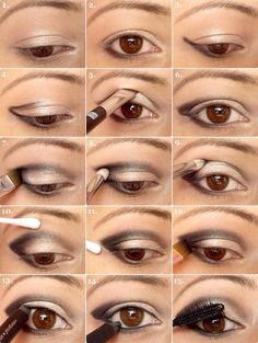How To Apply Eyeshadow Correctly!:)