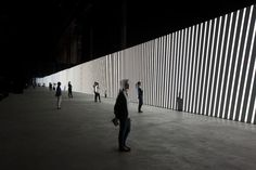 4 | A 130-Foot Display For Mesmerizing Monochrome Abstractions | Co.Design | business + design