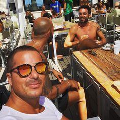 Scatti rubati..️ #friends#friendship#summertime#sun#sunnyday#tan#smile#boys#good...