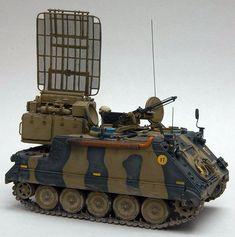 Green Archer (Mortar Locating Radar) on M113 Chassis (Denmark)