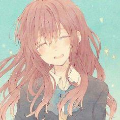 Koe No Katashi Kyoto Animation, Manga Anime, Manga Girl, Sad Anime, Anime Art Girl, Anime Mangas, Kawaii Anime, Top Manga, Anime Girls