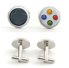 Gaming geek cufflinks! (So fun for Father's Day)