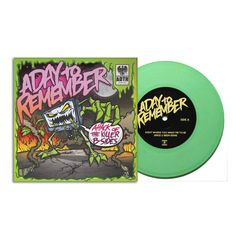 "Lazy Labrador Records - A Day To Remember · Attack of The Killer B-Sides · 7"" · Light Green, $64.99 (http://lazylabradorrecords.com/a-day-to-remember-attack-of-the-killer-b-sides-7-light-green/)"