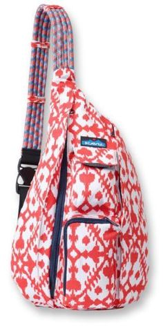 awesome Kavu Rope Bag - Sling Pack Backpack - New Solid and Pattern Variations Avalible