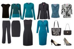 capsule business wear wardrobe