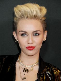 Celeb-Inspired Beauty Looks For Major Hot Mess Moments - Miley Cyrus