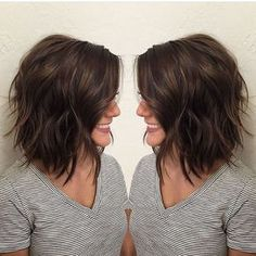 33 neue geschichtete Bob Frisuren 2018 33 New Layered Bob Hairstyles 2018 Related posts: Bob Hairstyles Layered Shoulder-length Haircuts … hairstyles 65 Refreshing Long Bob Hairstyles for – Bob Hairstyles Bob Hairstyles 2018, Layered Bob Hairstyles, Cool Hairstyles, Short Brunette Hairstyles, Short Brunette Hair Cuts, Brunette Shoulder Length Hair, Braid Hairstyles, Elegant Hairstyles, Latest Hairstyles