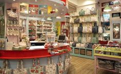 There are numerous ways to embrace the nostalgic Cath Kidston lifestyle, with her retro floral/cherry/stripey/dotty prints covering everything from washbags to Cath Kidston London, Mercer Street, Retro Floral, Covent Garden, Image House, Table Settings, Modern, Shopping, Home Decor