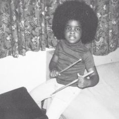 Give the drummer some. QuestLove in his youth.