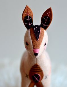 megafauna  doe by MountRoyalMint on Etsy, $150.00