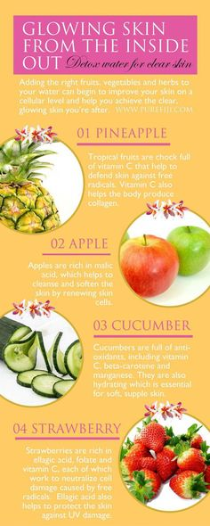 beautiful skin diet plan and tips. acne tips. anti ageing tips. how to get beautiful skin. what is the best diet for healthy skin. how to eat for clear skin Foods For Healthy Skin, Healthy Detox, Easy Detox, Healthy Eating, Healthy Food, Healthy Chicken, Clean Eating, Organic Skin Care, Natural Skin Care