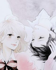 Manga Art, Anime Manga, Anime Art, Cute Anime Pics, Awesome Anime, Anime Love Triangle, Daytime Shooting Star, Tsubaki Chou Lonely Planet, Hirunaka No Ryuusei