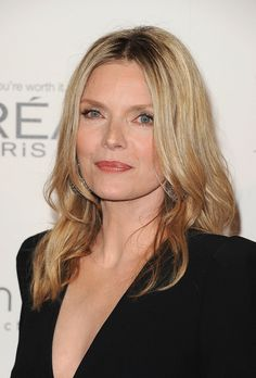 """Celebrities Who Are Aging Gracefully ~ Michelle Pfeiffer:  Pfeiffer is measured, but honest about how growing older makes her feel.   """"Honestly, there's certainly a mourning that ta..."""