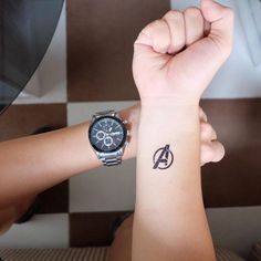 If you were as powerful as Thor, you would fear nothing as bad as a hand tattoo .- If you were as powerful as Thor, you wouldn& fear anything as bad as a hand tattoo. Hand Tattoos, Small Wrist Tattoos, Tattoos For Women Small, Unique Tattoos, Body Art Tattoos, Sleeve Tattoos, Tatoos, Inspiring Tattoos, Avengers Tattoo