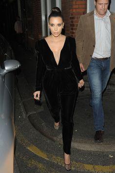 Kim Kardashian Photo - Kanye West at Hakkasan Restaurant in London