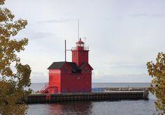 Big Red - Holland Michigan Lighthouse