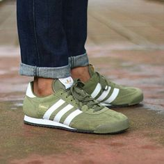 Adidas Originals Dragon: Base Green/White