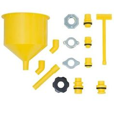 Lisle 24680 Spill-Free Funnel-- THE NEW & IMPROVED version of the 24610 model
