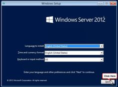 Windows Server 2012 defaults