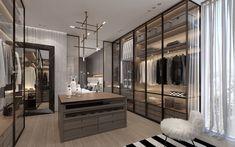 Walk In Closet Design, Bedroom Closet Design, Wardrobe Door Designs, Closet Designs, Dressing Room Design, Dressing Rooms, Luxury Closet, Luxury Homes Dream Houses, Apartment Interior Design
