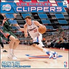 Luboh: Los Angeles Clippers 2012 Wall Calendar 12