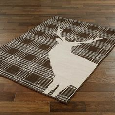 Natural Stag Rug Various Sizes New Home Rugs Cosy Bedroom Living Room Inspiration