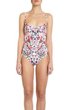mara hoffman one-piece swimsuit ($253)