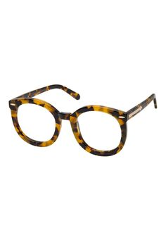Alternative Fit Super Duper Crazy Tort Clear Lens - All Eyewear  6a60c91b6e7a