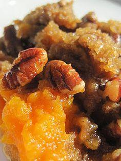 praline-topped sweet potatoes