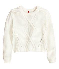 Pattern-knit Sweater | H&M US
