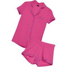 Cosabella Bella Shortsleeve & Boxer Pj Set (384346404) (1.661.640 IDR) ❤ liked on Polyvore featuring intimates, sleepwear, pajamas, short sleeve pajama set, cosabella sleepwear, cosabella pajamas, cosabella and button up pajamas