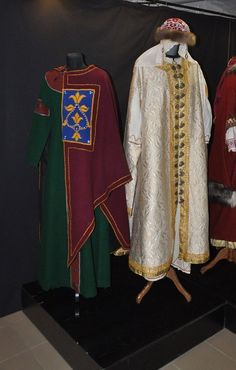 The fourth exhibition of costumes. Slavs and Vikings IX-XII. Novosibersk Regional Museum