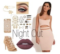 """Night Out"" by grace-madden-lucan ❤ liked on Polyvore featuring Miss Selfridge and Lime Crime"