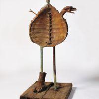 163Femme (Woman) 1969  Painted bronze (lost wax casting). Fonderie T. Clementi, Meudon, Paris