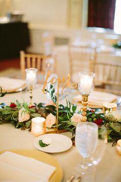 Flower garland for wedding... Planner: Soiree by Souleret   Florist: @sleventdesign   Photo: @caitlintphoto