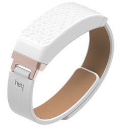 Meet HEY, a touching bracelet. It connects loved ones, no matter the distance