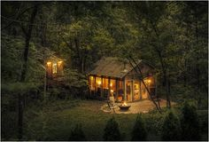I'll be hiding in there. Candlewood Cabins