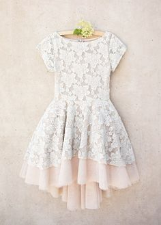 *NEW* Etta Dress in Champagne - Dresses - Clothing - Ma Petite