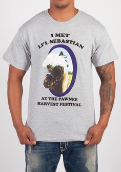 1e309a2a0bd PARKS AND RECREATION Lil  Sebastian T-Shirt