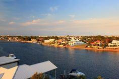 The view from Unit 60, 7 Grand Parade, Kawana Island