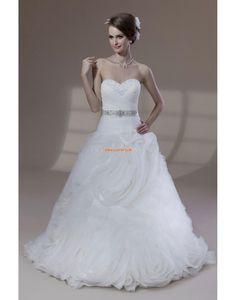 Kettő az egyben Menyasszonyi Ruhák Klasszikus és időtálló  Ujjatlan Menyasszonyi ruhák 2014