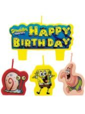 SpongeBob Birthday Candles