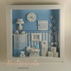 Shadow Frame, Shadow Box, Birth Pictures, Baby Boy Decorations, Baby Frame, Embroidery Cards, Ribba Frame, Baby Makes, Baby Art