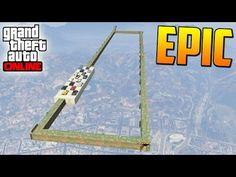 EL RECTANGULO DE LA MUERTE - Gameplay GTA 5 Online Funny Moments (Carrera GTA V Xbox ONE) - YouTube