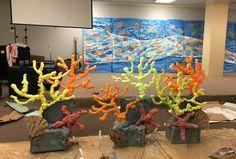 Cardboard :foam coral reef- small version                              …