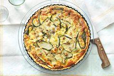 Op en top Frans deze quiche, zomers fris door het vleugje munt - Recept - Allerhande