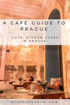 the best hidden cafes in prague Road Trip Europe, Places In Europe, Eurotrip, Prague Travel Guide, Visit Prague, Prague Czech Republic, Cool Cafe, Central Europe, European Travel