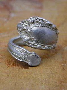 #ORCHARD PARK             #ring                     #Vintage #Spoon #Ring     Vintage Spoon Ring                                  http://www.seapai.com/product.aspx?PID=506266