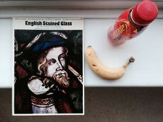 On the sill: English Stained Glass of the Medieval Period (John Baker)
